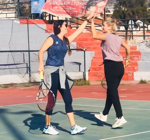 Salamina tennis Academy - Total practices for adults - 2nd  Issue