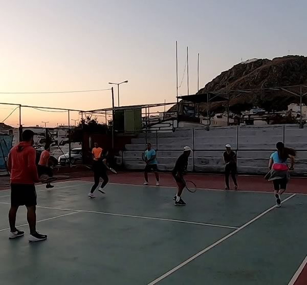 Salamina tennis Academy - Total practices for adults