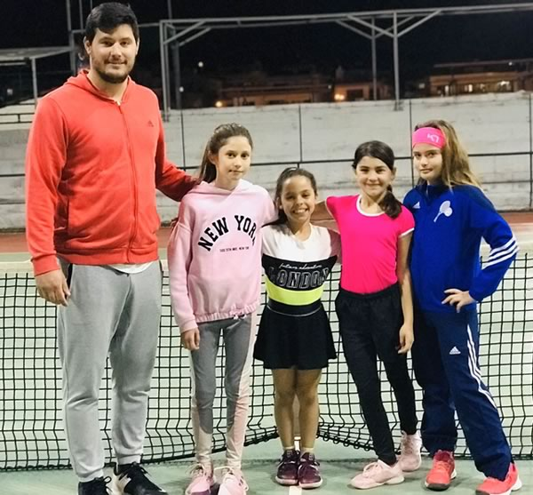 The presence of Salamina Tennis Academy players in recent months