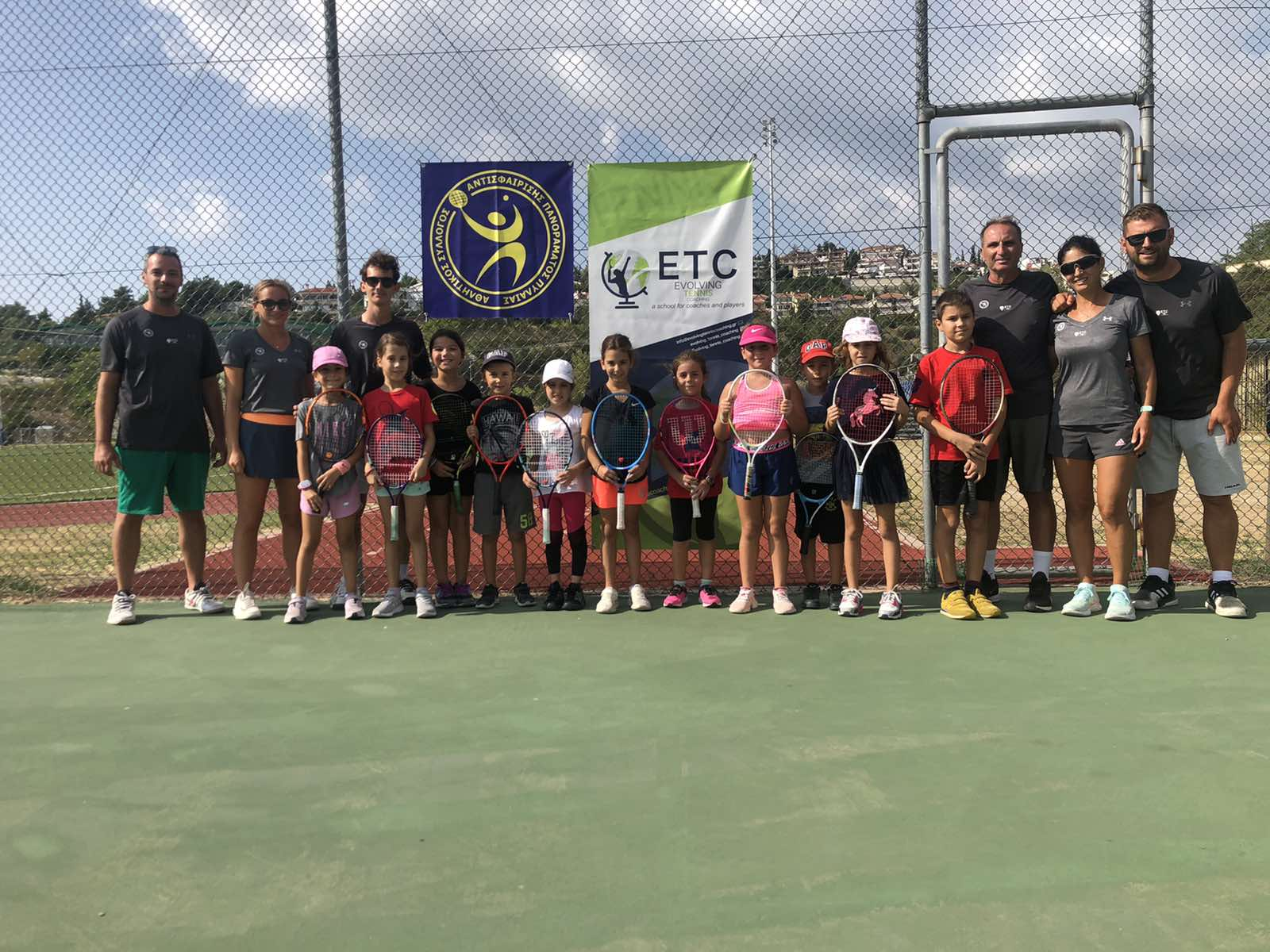 Asapp Tennis Academy: The 1st Camp of the Year!